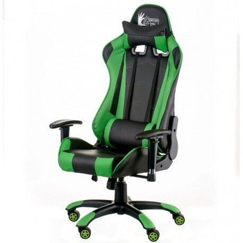 CentrMebel | Крісло Special4You ExtremeRace black/green (E5623) 1