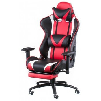 CentrMebel | Крісло Special4You ExtremeRace black/red with footrest (E4947) 1